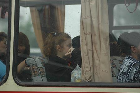 Ioana in rata spre Bucuresti
