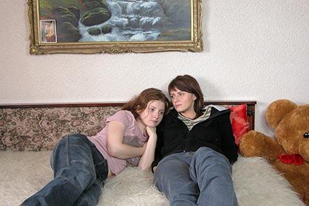 Fetele au ajuns in camera Ioanei de la tara